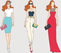 Dress Clipart Fashion Design 1