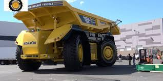 100 Dump Trucks Videos This Is The Only Footage Of Komatsus Cabless And Driverless