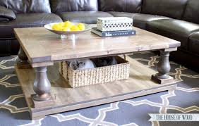 How To Build Wooden End Table by Diy Restoration Hardware Coffee Table