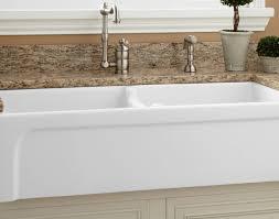 Farmhouse Sink With Drainboard And Backsplash by Sink Pleasant Reproduction Farmhouse Sink With Drainboard