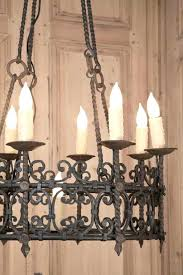 Rustic Outdoor Chandelier Wrought Iron Medium Size Of Lighting Mini Chandeliers Candle