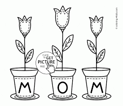 Happy Birthday Mom Coloring Pages Color For Archives Best Page Gallery Ideas