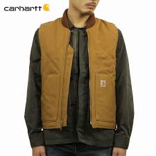 100 V01 Car Heart Best Mens Regular Article CARHARTT Outer DUCK VEST BRN CARHARTT BROWN