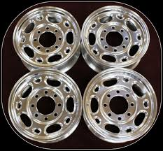 100 16 Truck Wheels New Set Of Four 8 Lug Alloy Rims Fits 19882018 Chevy Express Van EBay