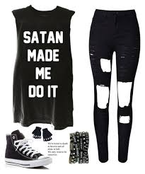 Skater Outfits Emo Fandom School Fashion Badass Outfit Clio Style Inspired Goth