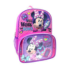 Minnie Mouse Queen Bedding by Minnie Mouse Backpack U0026 Lunch Tote Set