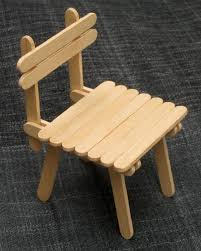 Popsicle Stick Crafts Chair