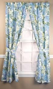 Linden Street Curtains Madeline by Marthawindow Hydrangea Rod Pocket Cotton Curtain Panel Found At
