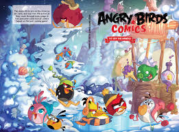VARIANT COVERS Angry Birds Comics Vol 4 Fly Off The Handle Cover