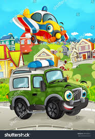 Cartoon Funny Looking Off Road Truck Stock Illustration 690390061 ...