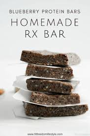 Homemade Protein Bar Paleo Snacks Healthy Rx Bars