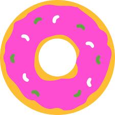 Cute Donut Cliparts 2814413