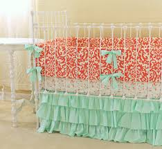 Teal And Coral Baby Bedding by Bedroom Teal And Coral Bedding Coral And Turquoise Bedding