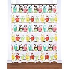 Cheap Owl Bathroom Accessories by Amazon Com Owl Friend Shower Curtain Art Deco Bathroom Decor