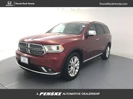 Dodge Durango Captains Chairs by 2014 Used Dodge Durango 2wd 4dr Citadel At Round Rock Honda