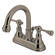 Glacier Bay Bathroom Faucets Instructions by Glacier Bay Gable 4 In Centerset 2 Handle Mid Arc Bathroom Faucet