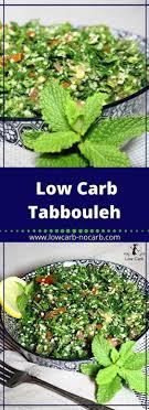 low carb taboulé salat tabule salat tabouleh lowcarb