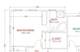 Master Bedroom Layout Size