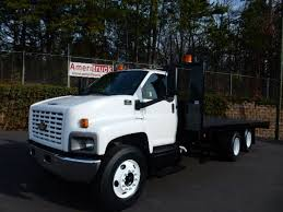 USED 2007 CHEVROLET C7500 FLATBED TRUCK FOR SALE IN NC #1603