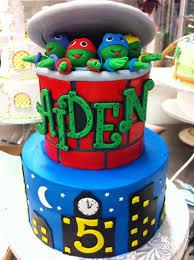 Ninja Turtle Decorations Nz by A Teenage Mutant Ninja Turtles Cake Tmnt Cake 029 Kids