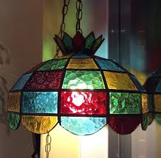 Stained Glass Light Fixtures Dining Room 13845 In Pertaining To Chandeliers Prepare 15