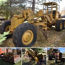 100 Snow Blowers For Trucks AUCTION COMPLETE Massey Ferguson 1150 Tractor Road Grader Plow