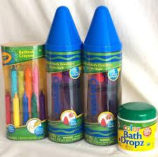 Crayola Bathtub Crayons Stain by Amazon Com Crayola 4 Piece Bath Set Blue Baby