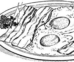 Bacon Eggs Breakfast Image thm Graphicsfairy