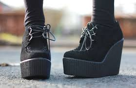 new in primark wedged creepers sindy kai