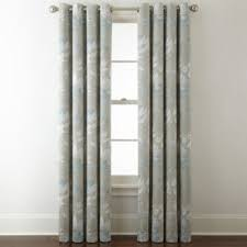 Grommet Top Curtains Jcpenney by Liz Claiborne Kathryn Floral Room Darkening Grommet Top Curtain