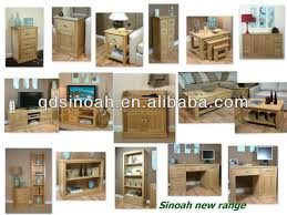 Rustic Style Large Oak Wooden TV Stand WOODEN UNIT AD25