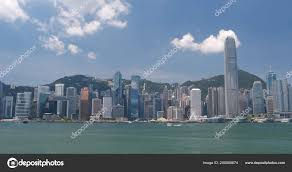 100 Hong Kong Skyscraper Victoria Harbor May 2018