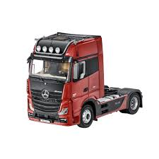 100 Articulated Trucks Mercedes Benz Truck Actros Fh25 Gigaspace Lorry Red 118