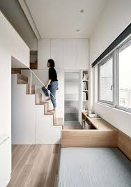 100 Interior Design For Small Apartments Apartment In Taipei Reveals Great Storage Options