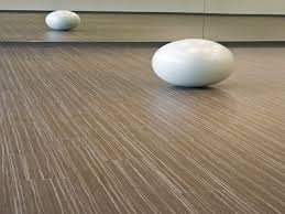 Outstanding White Marble Stones Like Egg On Pine Patterns Vinyl Plank Flooring As Inspiring Modern Interior Installation Views