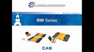 100 Portable Truck Scale CAS RW Series Timbangan Digital YouTube