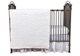 Marshmallow 3 Piece Crib Bedding Set Trend Lab