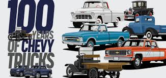 100 Chey Trucks 100 YEARS OF CHEVY TRUCKS Part 1 Street
