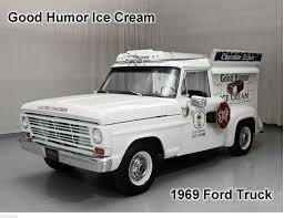 100 Good Humor Truck 1969 Ford Ice Cream Auto Refrigerator Magnet 8 12