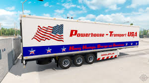 Powerhouse Transport Semi-trailer USA For American Truck Simulator Relocation Van Line Moving Trucks Trailers Movers Usa Company Smarts Truck Trailer Equipment Beaumont Woodville Tx The American Built Racks Sold Directly To You Flatbed Headboard For Sale In Mi Type St Used Great Skins Mexicousa Companies 12 Mod Rebrands Assetlight Business Begins Strategic Focus On Worlds Longest Semi Tractor Two Rivers Wisconsin Trailer Simulator Android Ios Youtube Pack V10 For Ats Allmetal Semitrailer V11 Mod