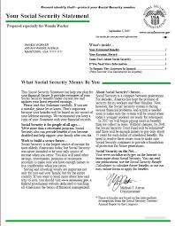 Social Security Statements available online
