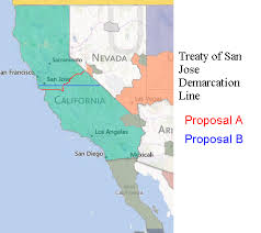 Treaty Of San Jose Demarcation Line NotLAH