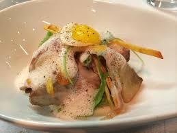 agastache cuisine plat du menu fish chic thon de ligne local artichaut lard