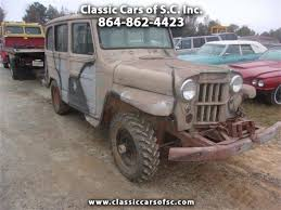 100 Willys Jeep Truck 1963 Wagon For Sale ClassicCarscom CC1163114