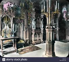schlafzimmer könig ludwig ii auf schloß neuschwanstein