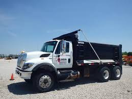 2008 International 7400 Heavy Duty Dump Truck For Sale, 127,264 ...