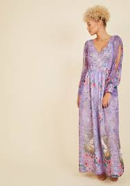 loop twirl and arch maxi dress in lilac modcloth