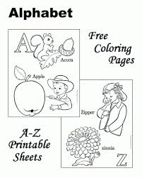 High Resolution Coloring Free Printable Abc Pages New At Sheets And