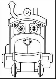 Coloriage Train Chuggington Top Plan Cartoon Chuggington Train Pour