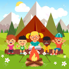 Camping Clipart Kindergarten 38 Child